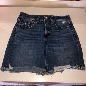 America Eagle Jean Skirt